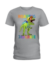 Roaring Into 3rd Grade Ladies T-Shirt thumbnail