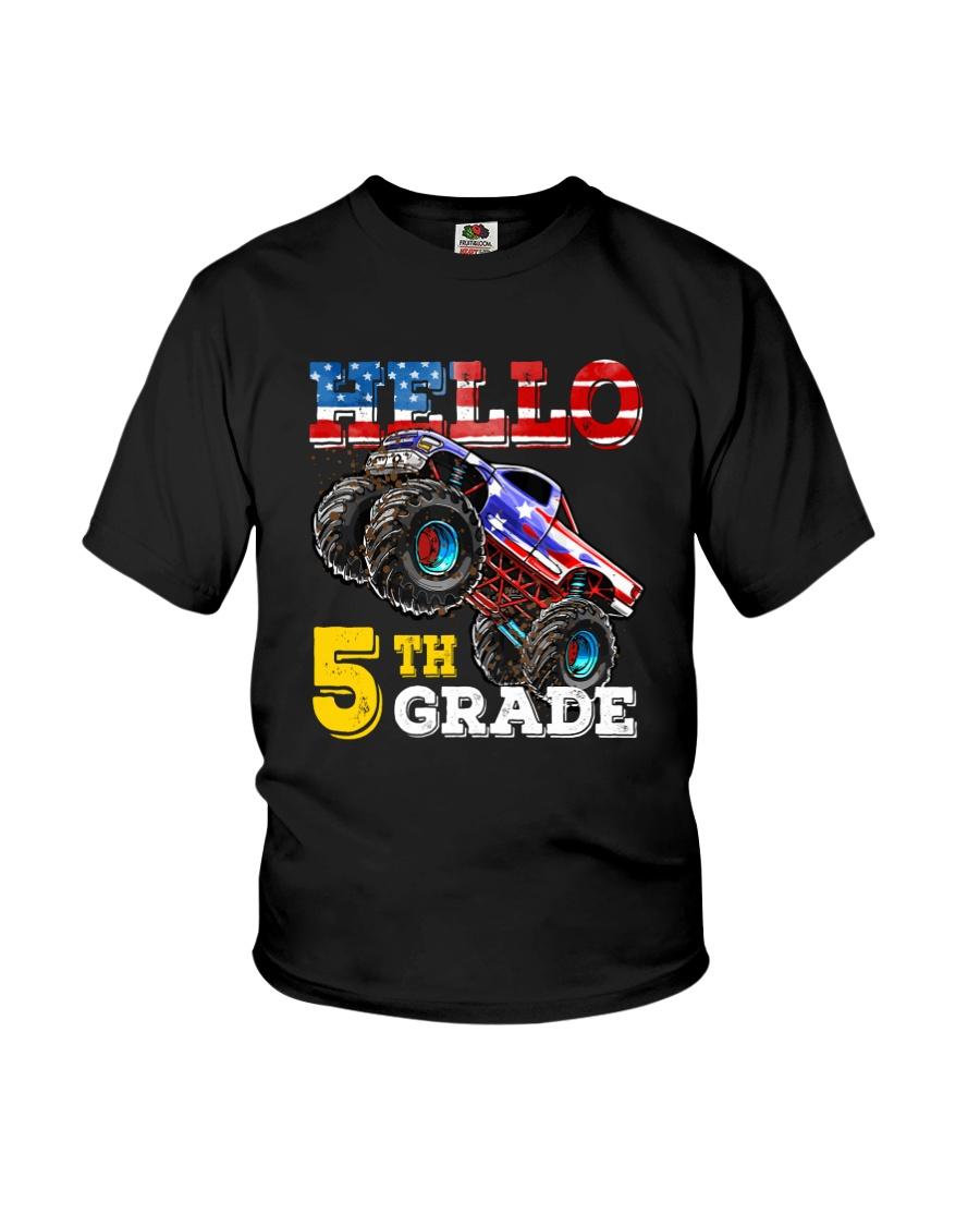 5th Grade Truck USD Hello  Youth T-Shirt