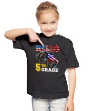 5th Grade Truck USD Hello  Youth T-Shirt lifestyle-youth-tshirt-front-2