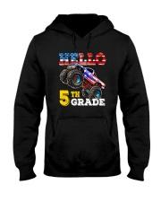 5th Grade Truck USD Hello  Hooded Sweatshirt thumbnail