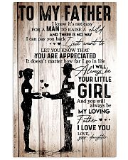 To My Father Girl 11x17 Poster front