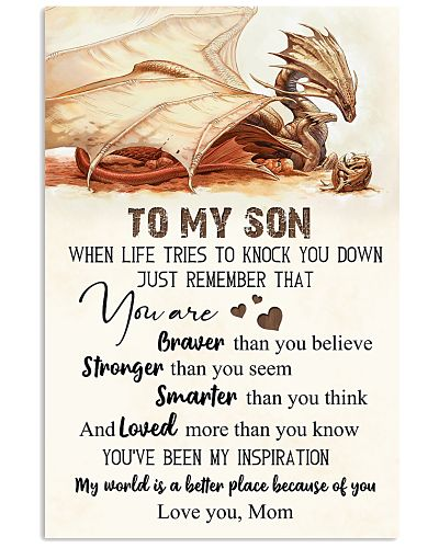 To My Son You Are Braver