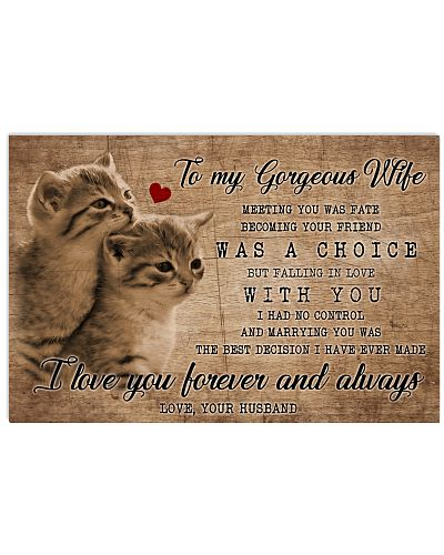To My Wife Cats