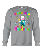 Flying Into 4th Grade Crewneck Sweatshirt thumbnail