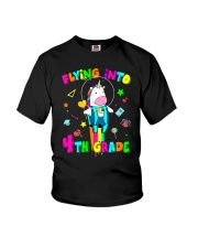 Flying Into 4th Grade Youth T-Shirt front