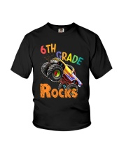 Rocks Truck 6th Grade  Youth T-Shirt front