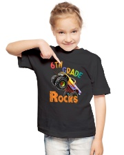 Rocks Truck 6th Grade  Youth T-Shirt lifestyle-youth-tshirt-front-2