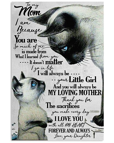 To My Mom I Will Always Be Your Little Girl
