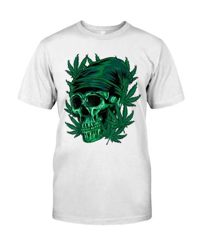 Cannabis Skull