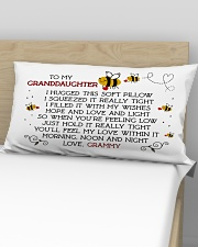 Grammy-granddaughter Rectangular Pillowcase aos-pillow-rectangular-front-lifestyle-02