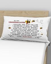 Mom Mom - granddaughter Rectangular Pillowcase aos-pillow-rectangular-front-lifestyle-02