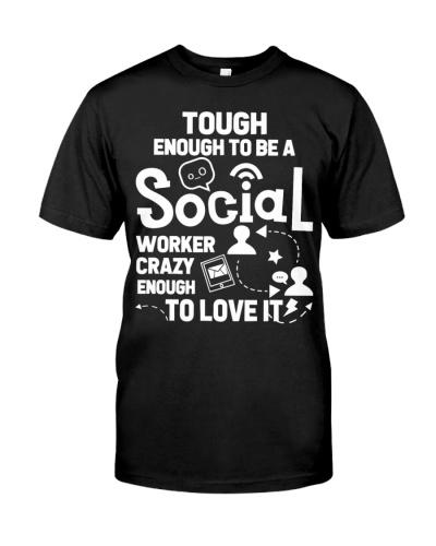 Tough Enough To Be A Social Worker
