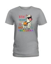 5th Grade No Probllama Ladies T-Shirt thumbnail