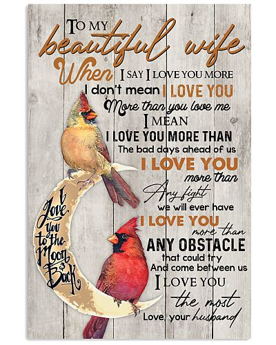 To My Beautiful Wife When I Say I Love You