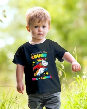 Unicorn Crush Preschool Youth T-Shirt lifestyle-youth-tshirt-front-5