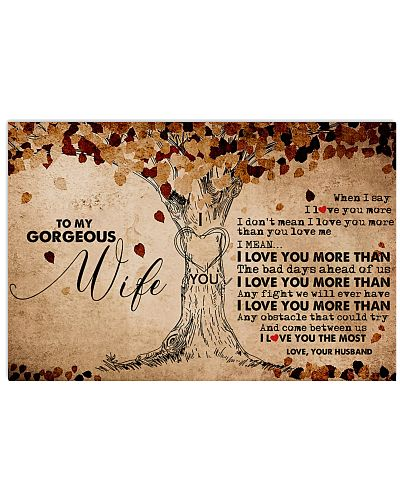 To My Gorgeous Wife