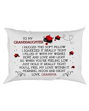 Pillow Bug Lady - To Granddaughter - Grandma Rectangular Pillowcase front