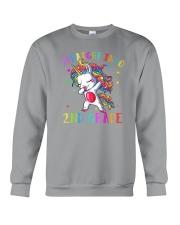 Straight Into 2nd Grade Crewneck Sweatshirt thumbnail