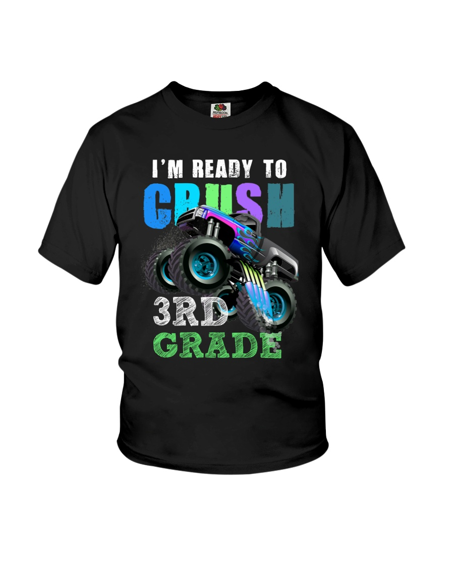 Ready To Crush 3rd Grade Youth T-Shirt