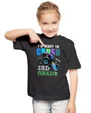Ready To Crush 3rd Grade Youth T-Shirt lifestyle-youth-tshirt-front-2