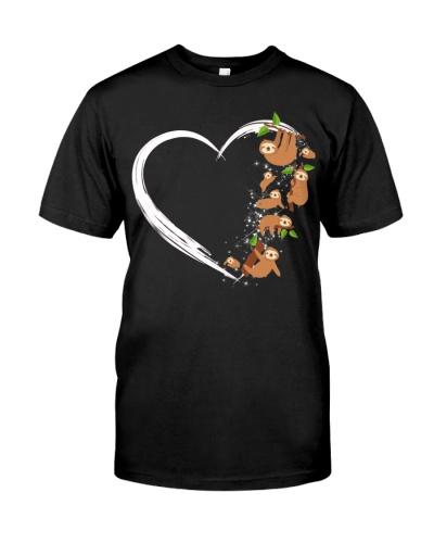 Sloth Heart Love Sloth