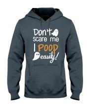 Don't Scare Me I Poop Easily Hooded Sweatshirt thumbnail