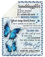 "To My Granddaughter - Blanket - Grandma Large Sherpa Fleece Blanket - 60"" x 80"" thumbnail"