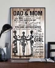 To Dad And Mom 11x17 Poster lifestyle-poster-2