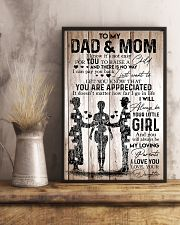 To Dad And Mom 11x17 Poster lifestyle-poster-3
