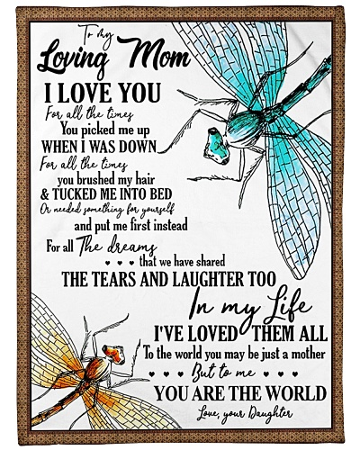 To My Loving Mom I Love You Your Daughter