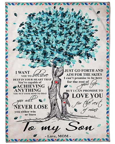 To My Daughter Tree Blue