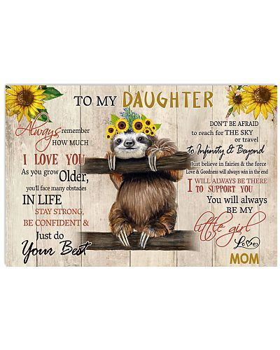 To My Daughter Sloth