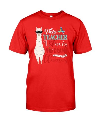 This Teacher Love No Drama Little Llama