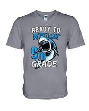 Attack 9th Grade  V-Neck T-Shirt thumbnail