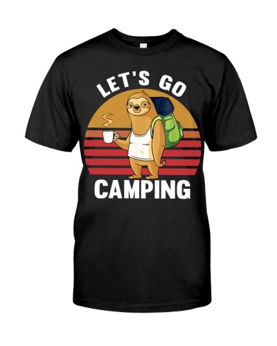 Sloth Let's go camping