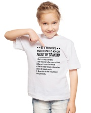 5 Things You Should Know About My Grandma Youth T-Shirt lifestyle-youth-tshirt-front-2