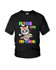 Flying Into Pre-School Youth T-Shirt front