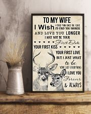 To My Wife I Wish I Could  11x17 Poster lifestyle-poster-3