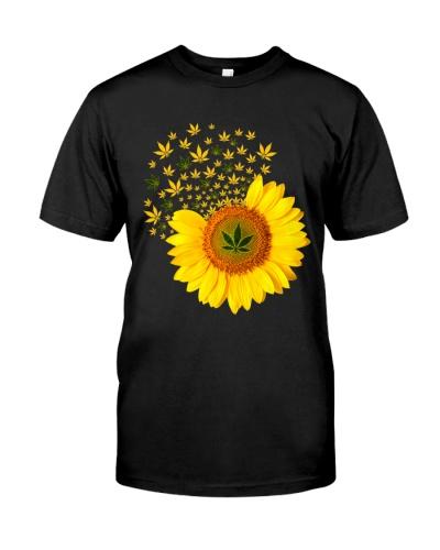 Sunflower Weed Hippie