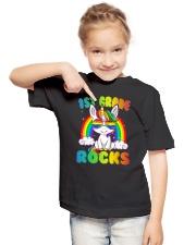1st Grade Unicorn 3 Rock 3  Youth T-Shirt lifestyle-youth-tshirt-front-2