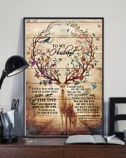 To My Husband Deer 11x17 Poster lifestyle-poster-2
