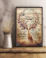 To My Husband Deer 11x17 Poster lifestyle-poster-3