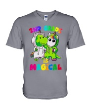 2nd Grade Magical V-Neck T-Shirt thumbnail
