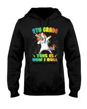 9th Grade Unicorn Roll 2  Hooded Sweatshirt thumbnail
