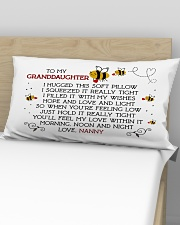 Nanny - Granddaughter Rectangular Pillowcase aos-pillow-rectangular-front-lifestyle-02