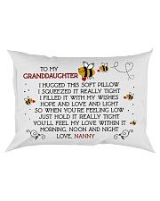 Nanny - Granddaughter Rectangular Pillowcase front