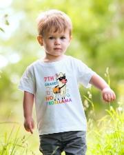 7th Grade No Probllama Youth T-Shirt lifestyle-youth-tshirt-front-5