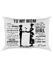 Pillow Daughter To Mom Rectangular Pillowcase front