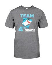 Team 4th Grade Shark Classic T-Shirt thumbnail