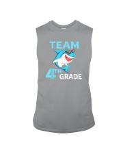 Team 4th Grade Shark Sleeveless Tee thumbnail